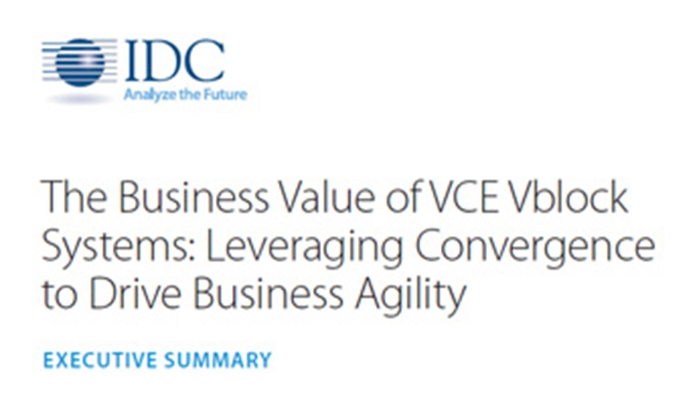 Leveraging Convergence to Drive Business Agility