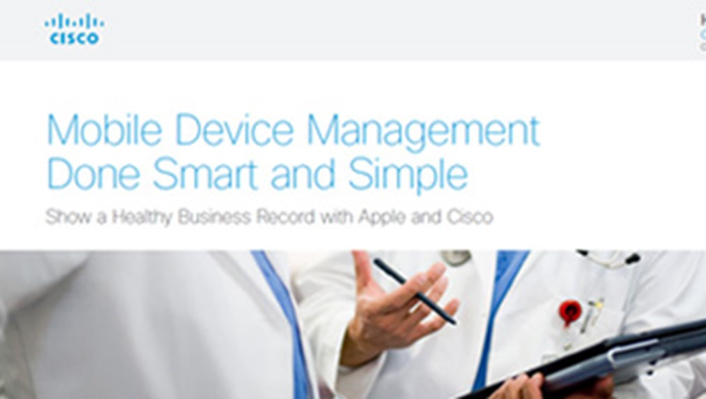 Cisco Meraki - Healthcare Use Case