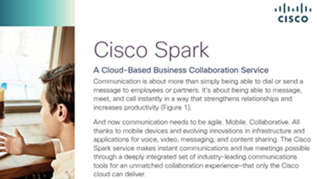 Cisco Spark Overview