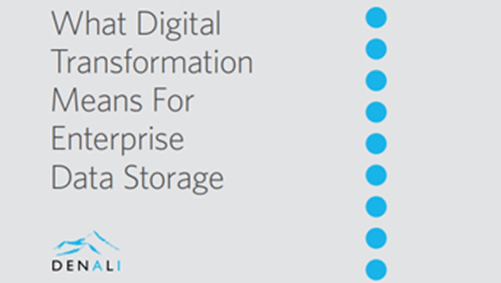 What Digital Transformation Means for Enterprise Data Storage