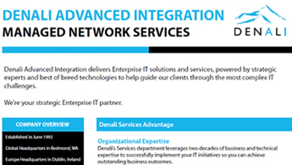 Denali Managed Network Services