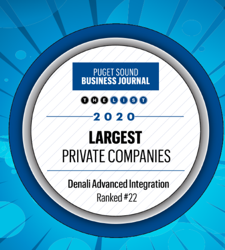 Denali Advanced Integration Named to 2020 Largest Private Companies List
